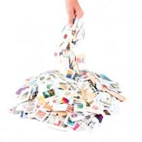 Un kilo de timbres du monde entier