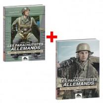Lot de 2 ouvrages : Les Parachutistes allemands, Volumes 1 & 2