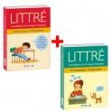 Lot de 2ouvrages : Littré, l'excellence de la langue française Grammaire Conjugaison + Orthographe Vocabulaire