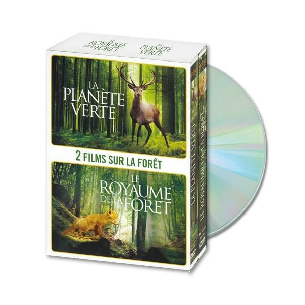 Coffret DVD La Planète verte et Le Royaume de la forêt