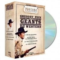 Coffret DVD Gregory Peck et les géants du western
