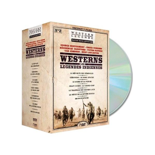 Coffret DVD Westerns - Les Légendes indiennes Vol. 2