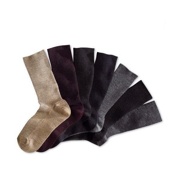Chaussettes confort total - les 7 paires