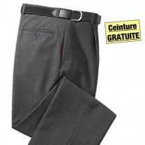 Pantalon bi-extensible anti-taches