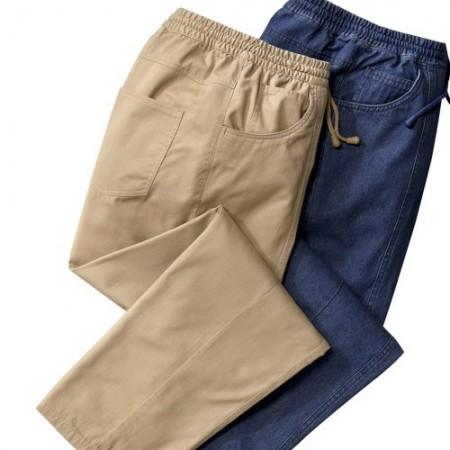 Pantalons détente holiday - les 2