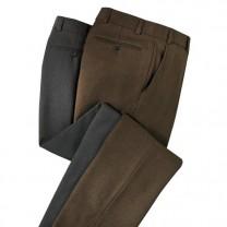 Pantalons infroissables thermiques - les 2