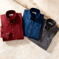 Chemises flanelle confort - les 3
