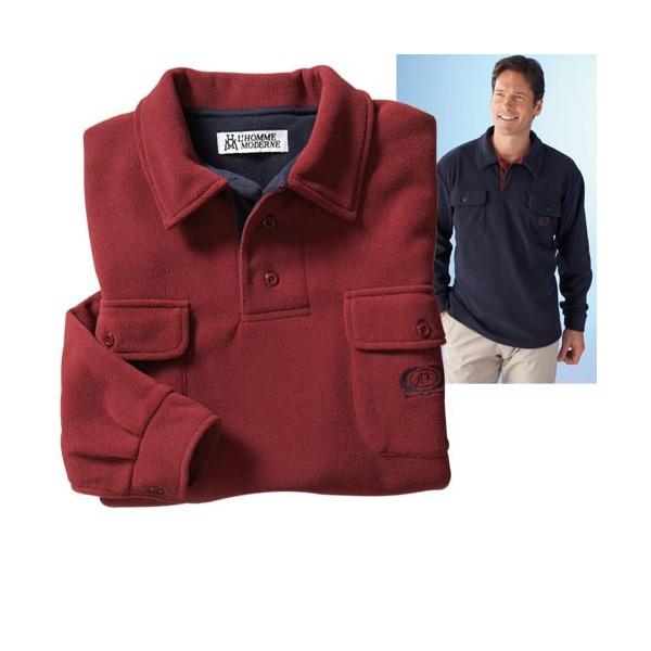 polo micropolaire bordeaux acheter polos et chemises l homme moderne
