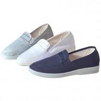 Chaussures toile Confort-Line - les 3 paires
