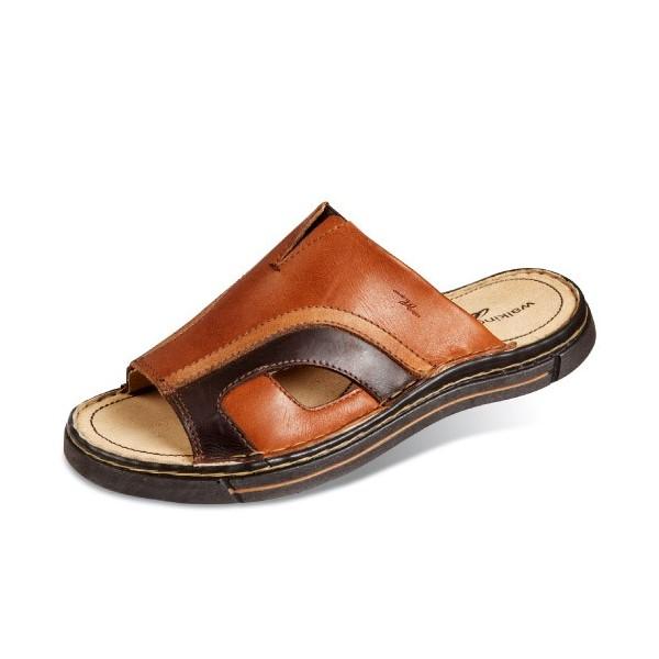 Mules cuir grande largeur acheter chaussures et - Chaussures grande largeur homme ...