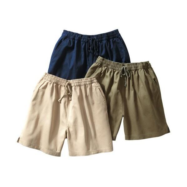 Shorts tout confort - les 3