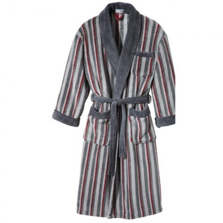 robe de chambre polar fleece acheter pyjamas robes de chambre l 39 homme moderne. Black Bedroom Furniture Sets. Home Design Ideas