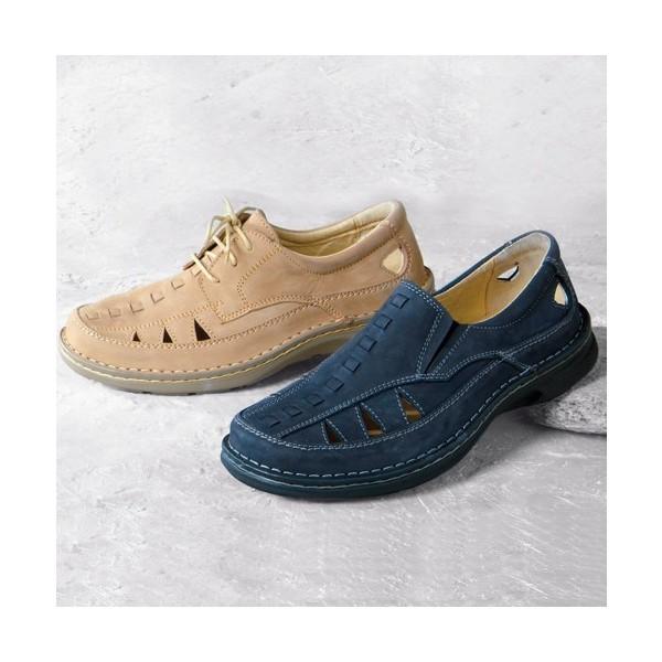 Mocassins nubuck grande largeur acheter chaussures - Chaussures grande largeur homme ...