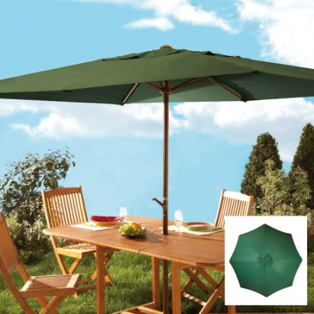 parasol manivelle rond acheter d coration mobilier de jardin l 39 homme moderne. Black Bedroom Furniture Sets. Home Design Ideas