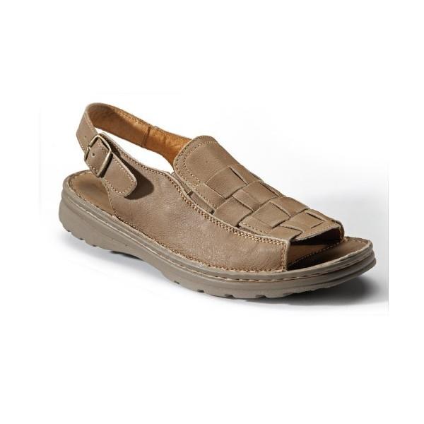 Sandales tress es grande largeur acheter chaussures et - Chaussures grande largeur homme ...
