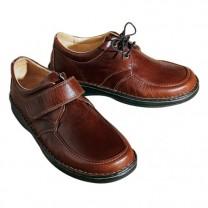 Chaussures lacées confort «grande largeur»
