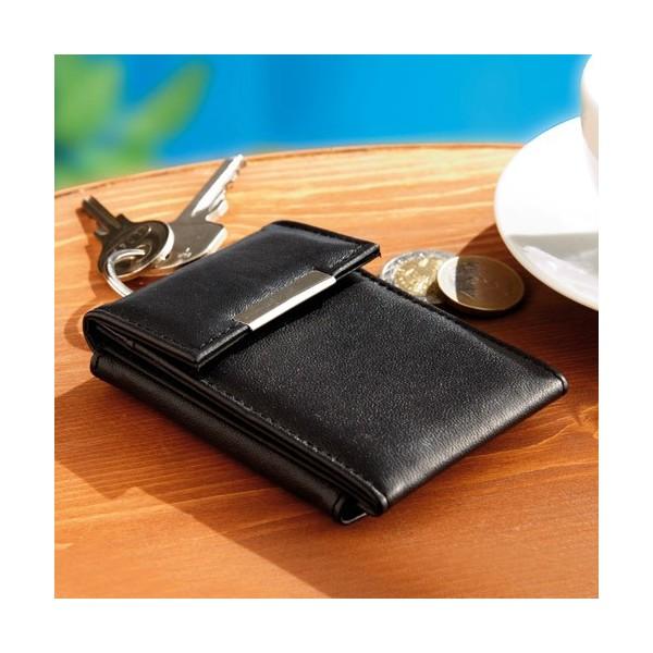 en cadeau le mini portefeuille cuir 4 en 1 acheter cadeaux l 39 homme moderne. Black Bedroom Furniture Sets. Home Design Ideas