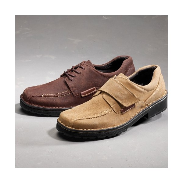 Chaussures bien tre grande largeur lac es acheter - Chaussures grande largeur homme ...