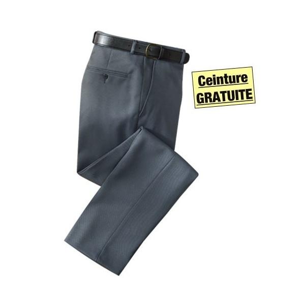 pantalon de ville easy care gris acheter pantalons jeans l 39 homme moderne. Black Bedroom Furniture Sets. Home Design Ideas