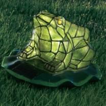 Grenouille vitrail solaire