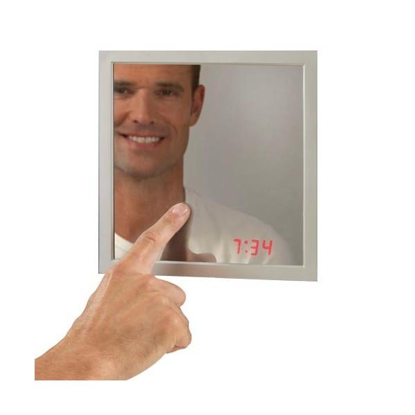 Miroir horloge magique acheter d co ameublement linge for Miroir magique