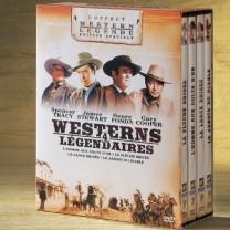 Coffret Westerns de Légende - les 4DVDs