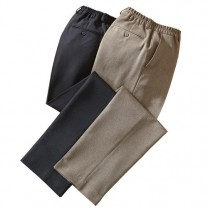 Pantalons ville  maxi-confort - les 2