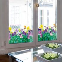 Film pour vitrage«jardin fleuri»