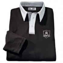 Polos micro-coton Black & White - les 2