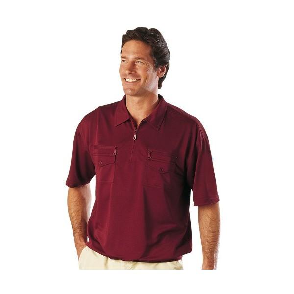 polo micro coton travel bordeaux acheter chemises polos l 39 homme moderne. Black Bedroom Furniture Sets. Home Design Ideas