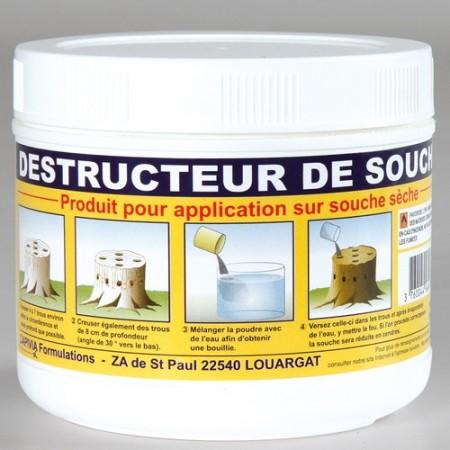 Destructeur de souches acheter jardin l 39 homme moderne - Produit destructeur de souche d arbre ...