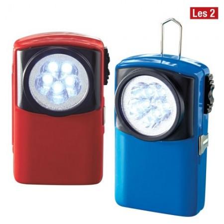 Lampes de poche LEDs - les 2