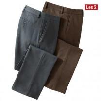 Pantalons thermiques coupe  confort