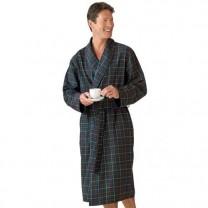 Robe de chambre flanelle clan