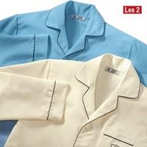 Chemises de nuit microfibre - les 2