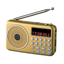 Radio enregistreur rechargeable