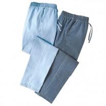 Pantalons Denim Silky - les 2
