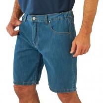 Bermuda confort en jean