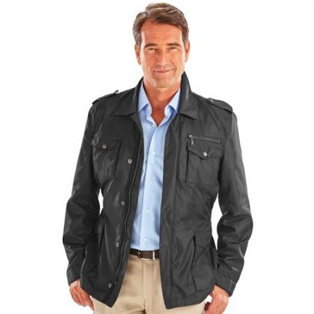 blouson homme moderne veste de costume unie coupe droite. Black Bedroom Furniture Sets. Home Design Ideas