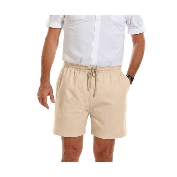 Les 2 Shorts Toile Coton - Acheter Shorts,