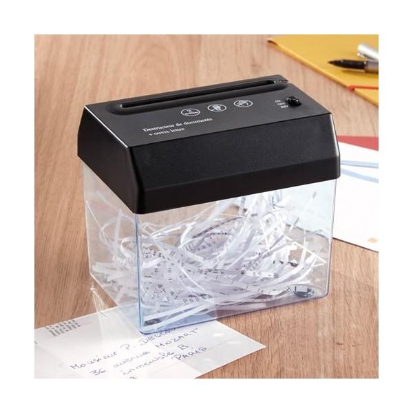 en cadeau le destructeur de documents acheter cadeaux. Black Bedroom Furniture Sets. Home Design Ideas