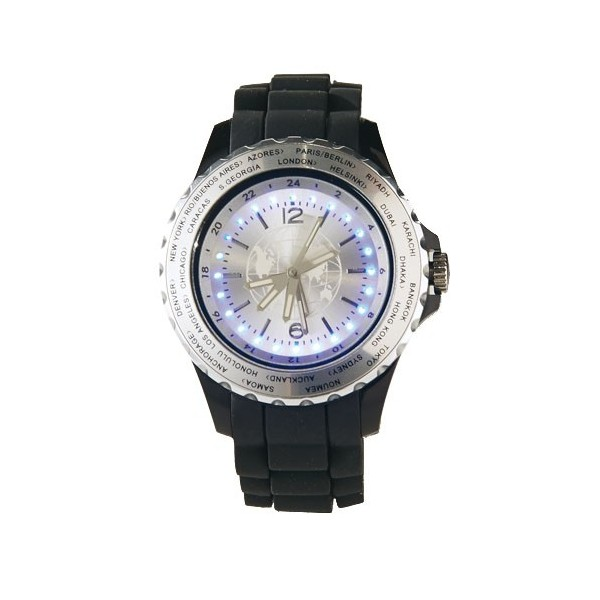 Montre «world time»
