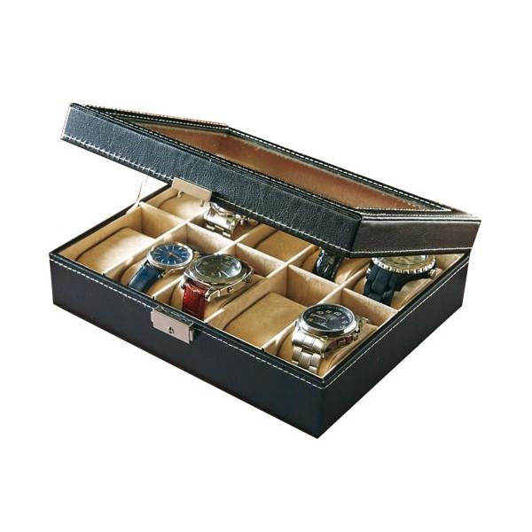 coffret vitrine pour montres acheter montres l 39 homme moderne. Black Bedroom Furniture Sets. Home Design Ideas