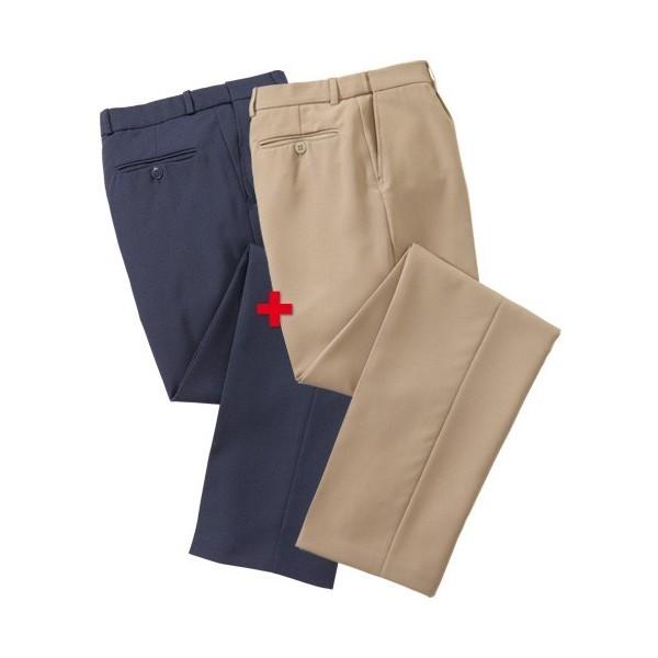Pantalons Infroissables Confort - les 2