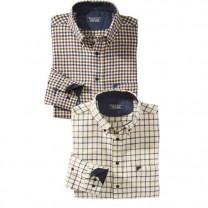 Chemises Flanelle British - les 2