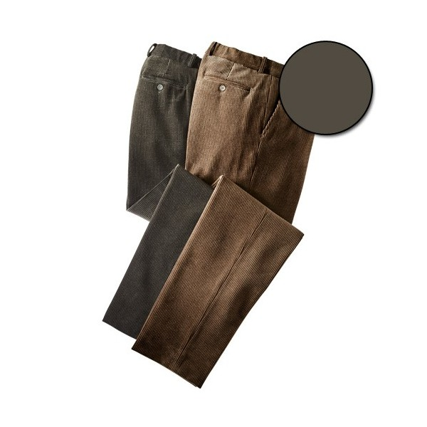 Pantalon Velours Grandes Tailles