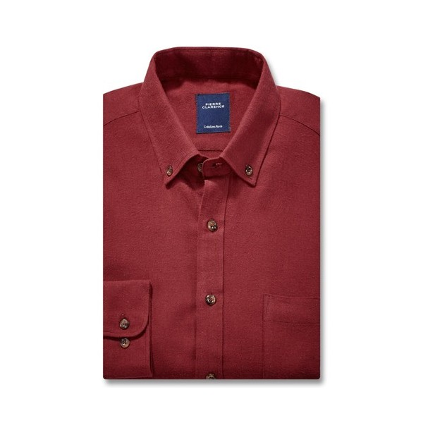 chemise flanelle clarence bordeaux acheter l offre de fashion l homme moderne l homme