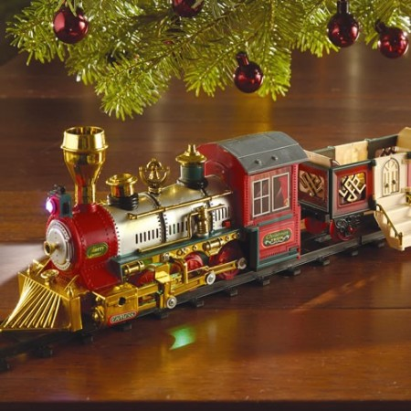 Train de no l anim acheter d co ameublement linge de for Acheter decoration noel