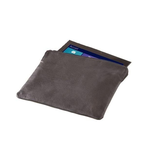 pochette en cuir pour tablette acheter informatique accessoires l 39 homme moderne. Black Bedroom Furniture Sets. Home Design Ideas