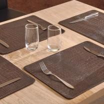 Set de table «croco» - les 4